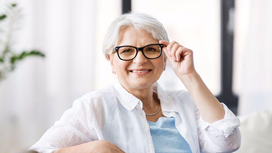 lunettes de vue sénior