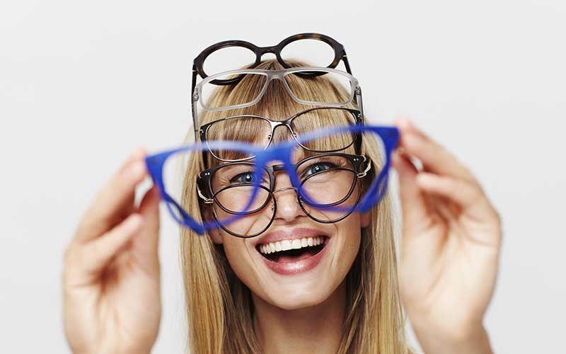 Choix de monture de lunettes