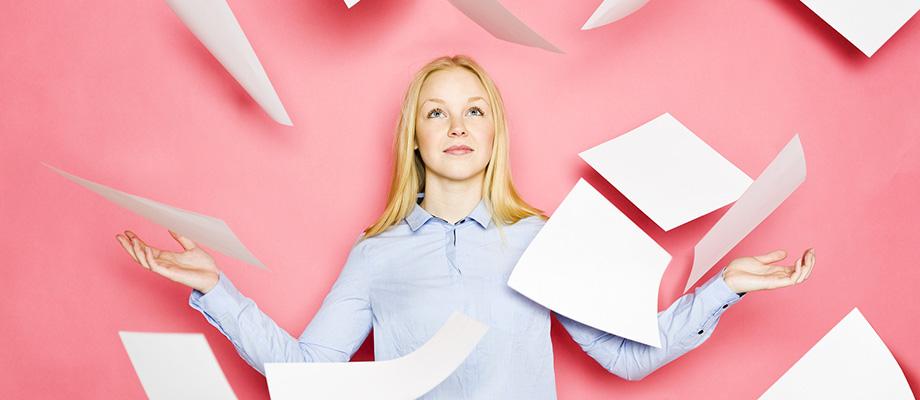 trier ses papiers et documents de santé