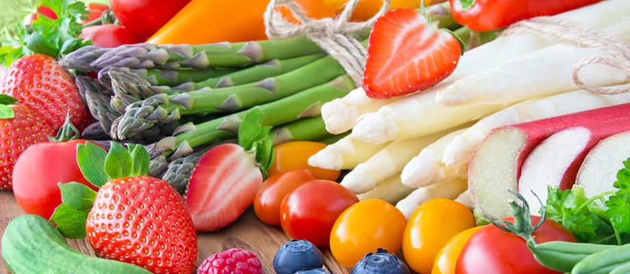 fruits et légumes santé - fruits legumes et sante - fraise et sante - kiwi et sante - chou et sante - asperge et sante