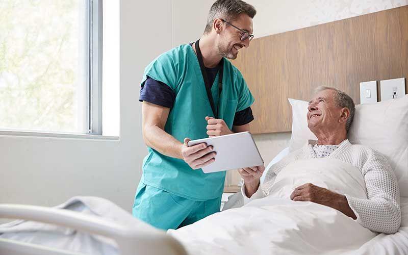 Prise en charge d'une hospitalisation